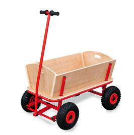 """Bollerwagen """"Maxi"""", Outdoor-Spielzeug für den Garten und Wanderungen mit Luftbereifung"""