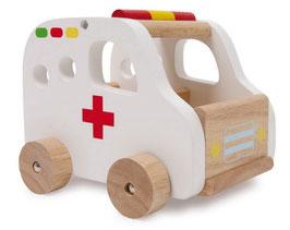 Retter-Autos 3er-Set, Ambulanz - Krankenwagen für den Rettungseinsatz von Verletzten, Erste-Hilfe-Einsatz und Patienten-Transport