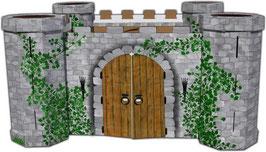 """Ritterburg """"Avalon"""" Gartenspielzeug Outdoor für Rollenspiel u. Verkleidung"""