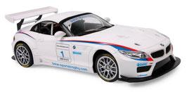 BMW Z4 GT3 weiß, Skala 1:18, Ferngesteuerte Autos, Fahrzeuge-Autos mit Funksteuerung, Rennwagen