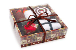 Handtuchgeschenkbox, Geschenke-Dekoration