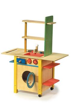 """Küche """"all in one"""", Küchen u. Zubehör, Holzspielzeug für Kinder-Köche"""