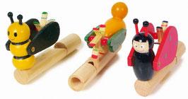 Tierflöten, Musikinstrumente
