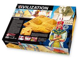"""Bastelset """"Pyramiden"""", Modellnachbau eines der berühmten Weltwunder in Ägypten"""