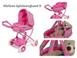 """Puppenwagen """"Luxus"""", rosa"""
