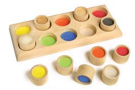 Fühlmemo, Lernartikel, Kinder-Holzspielsachen