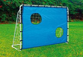 Fußballtor mit Torwand für Spielen u. Spaß im Outdoor-Bereich, Fußball im Garten für angehende Profis