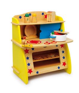 """Puppenküche """"Star"""", Küchen u. Zubehör, Holzspielzeug"""