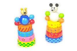Steck-Maus und -Bär, Motorik Spielzeug
