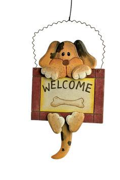"""Decoschild """"Welcome"""", Geschenke-Dekoration"""