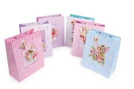 Geschenktüten für Kindergeburtstags-Geschenke, Papiertüten mit Kordel