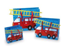 """Papiertasche """"Feuerwehr"""", Kindergeburtstag"""