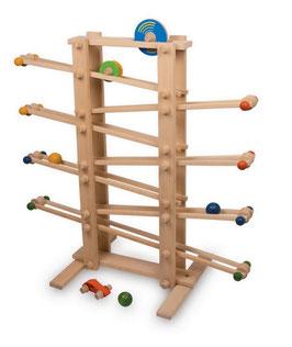 "Kugelbahn ""Gigant"", Kinder-Holzspielzeug"