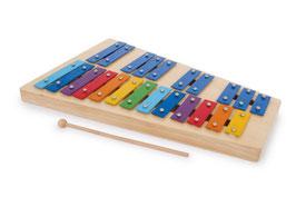 """Xylophon """"Regenbogen"""", Musikinstrument mit Noten beschriftet, traumhaft schöne Klänge"""