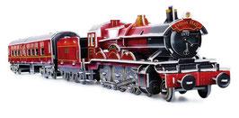 """3D """"Zug"""", Eisenbahn Puzzle einer nostalgischen Dampflokomotive"""