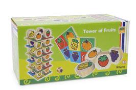 Früchte-Turm, Bauen u. Konstruieren