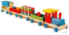 Zug Emil, Eisenbahnen, Kinder-Holzspielsachen