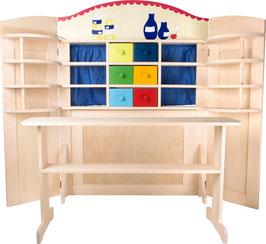 """Kaufladen """"Vario"""", Kaufläden-Zubehör für kleine Kaufleute, Kinder-Holzspielzeug"""