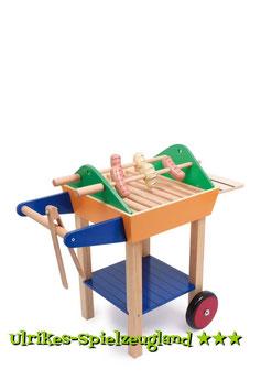 Kinder-Holzgrill mit Zubehör