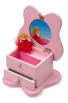 Schmuckkästchen mit Spieluhr, Kinder-Holzspielsachen