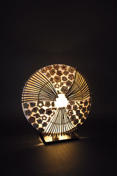 "Lampe ""Linda"", Geschenke-Dekoration"