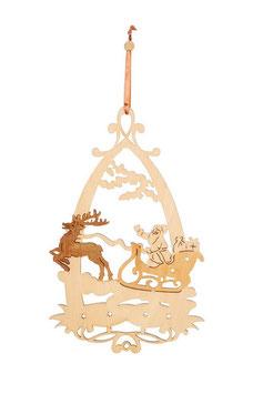 """Fensterbild """"Winterzeit"""", Weihnachten-Christmas"""