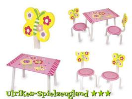 """Tisch-Set """"Leonor"""" für Kinderzimmer, Kinderzimmermöbel u. Zubehör"""