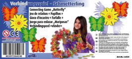 """Verbindungsspiel """"Schmetterling"""" 2er-Set, Motorik Spielzeug, Lernartikel"""
