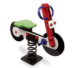 Schaukelmotorrad für den kleinen Biker, Gartenspielzeug Outdoor, Holzspielzeug