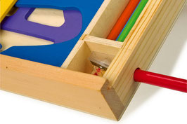 Schablonen-Set, Lernartikel für Malen u. Basteln