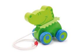 """Zieh-Krokodil """"Stefan"""", Zieh- u. Schiebeartikel, Babyartikel"""