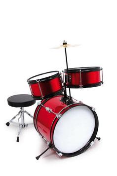 """Schlagzeug """"Profi"""", Musikinstrumente für Motorik- und Rhythmusgefühl, Trommel - Bass-Drum, Musik-Band"""