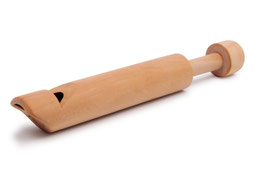Flöte natur, 3er-Set, Musikinstrumente
