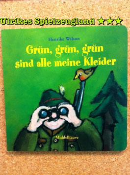"""""""Grün, grün, grün sind alle meine Kleider"""", Kinderbücher"""