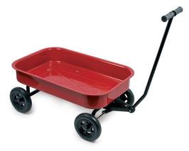 Blech-Handwagen, groß, Gartenspielzeug Outdoor für Bauen u. Konstruieren, Zieh- u Schiebeartikel, Spielzeug