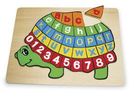 """Puzzle """"ABC Schildkröte"""", Puzzle, Lernartikel"""