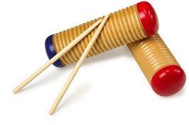Guiro, Musikinstrumente