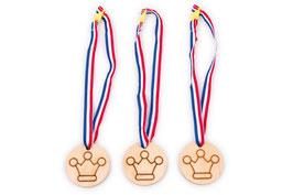 """Medaille """"Krone, Kindergeburtstag"""