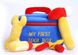 Werkzeugkasten, Babyartikel, Werkbänke u. Werkzeug, Plüsch- u. Kuschelartikel