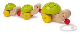 Zieh-Schildkröte, Babyartikel aus Buchenholz, Zieh- u. Schiebeartikel