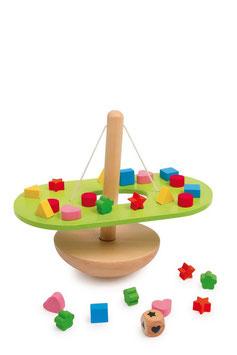 Balancierwippe, Gesellschaftsspiele