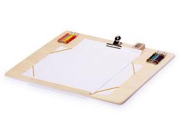 Zeichenbrett aus stabilem Schichtholz, Lernartikel für Malen u. Basteln