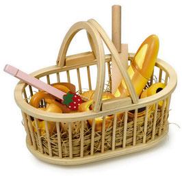 Schneide Picknickkorb, Küchen u Zubehör, Gartenspielzeug Outdoor, Holzspielzeug