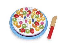 """Schneide """"Geburtstagskuchen"""", Küchen u. Zubehör, Kaufläden-Zubehör, Holzspielzeug für die Kleinen"""