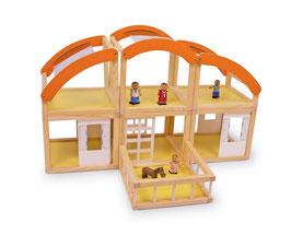 """Puppenhaus """"Ibiza"""", Puppenhäuser u. Zubehör, Kinderzimmermöbel u. Zubehör, Holzspielzeug"""