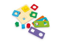 Farben und Formspiel, Motorik Spielzeug