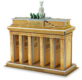 3D Brandenburger Tor, Puzzle eines deutschen Wahrzeichens in Berlin