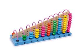 Rechenrahmen, Lernspielzeug für Rechenaufgaben, Addition, Subtraktion, für alle kleinen Rechenkünstler