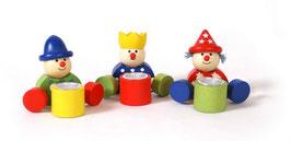 Geburtstagswichtel, Kerzenhalter-Deko für den Kindergeburtstag