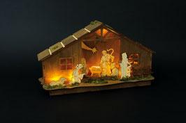 """Lampe """"Krippenhaus"""", Weihnachten-Christmas"""